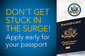 US Passport Surge in Applications & REnewals